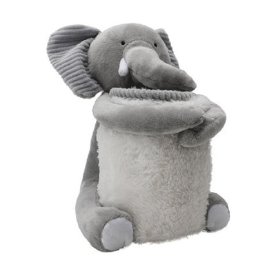 Elephant with Blanket