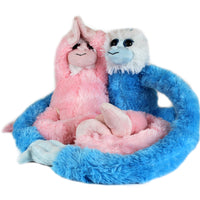 Plush Monkey - Pink or Blue