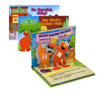 Varieties of Sesame Street Pop-Up books