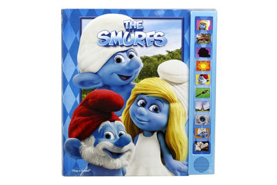 The Smurfs Deluxe 10 Sound Story Book
