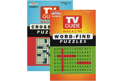 Word Find / Crossword Puzzle Book A5