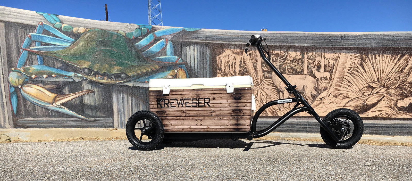 Kreweser motorized cooler