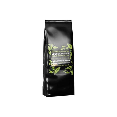 Equilibrium CBD Gourmet Loose Leaf Tea 28g 56mg CBD - English Breakfast Tea