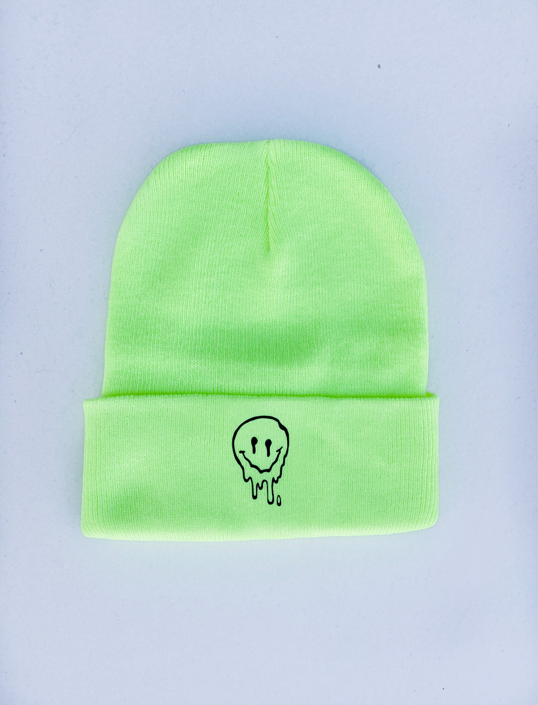 Dripping Smiley Beanie