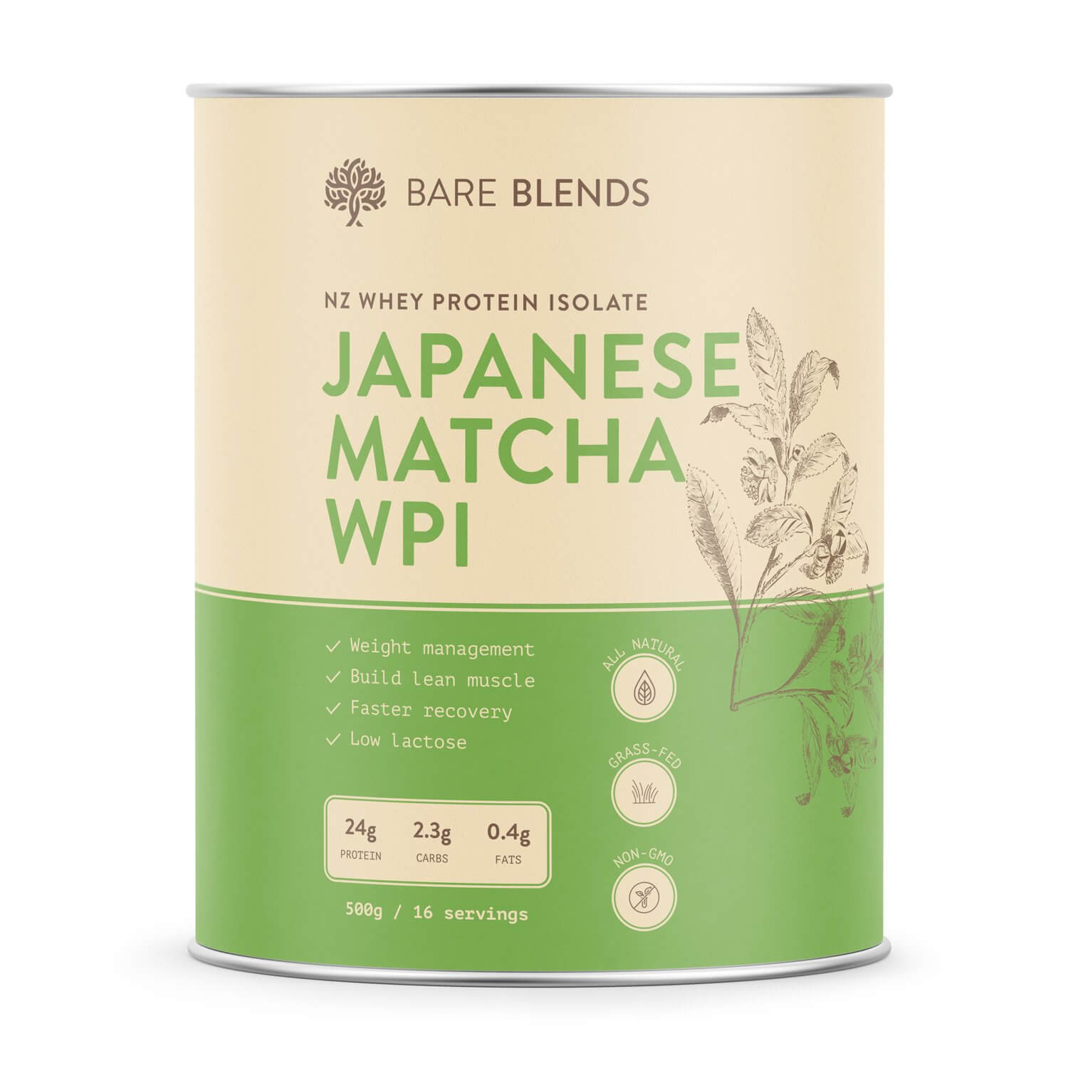 japanese-matcha-whey-protein-isolate