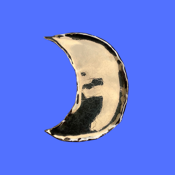 Crescent Moon Ring Dish