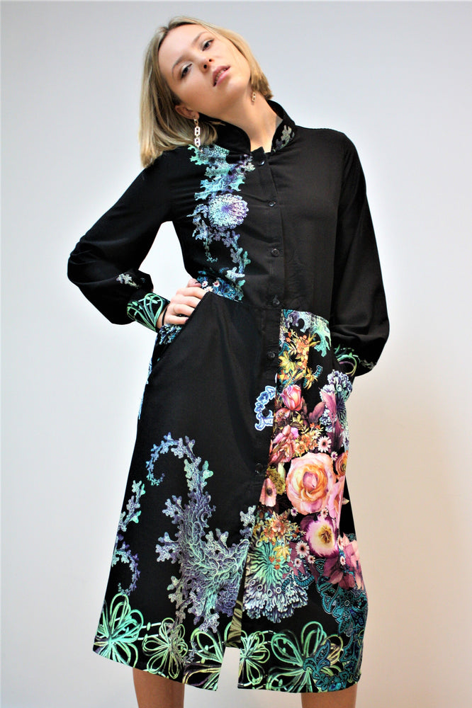 Midnight Garden Dress