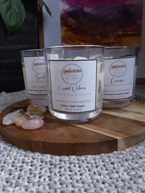 Crystal Vibe Soy Candle