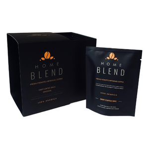 Home Blend Drip Coffee Bags (Pack of 10) | Original | Light to Medium Roast