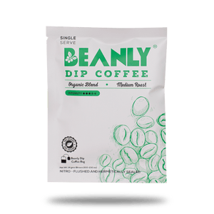 Beanly Organic Blend Dip Coffee