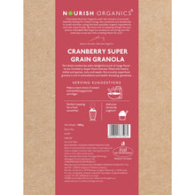 Load image into Gallery viewer, Cranberry Super Grain Granola