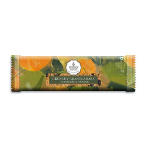 Crunchy Millet Granola Bars - Cranberry & Orange 240g (40g X 6 Bars)