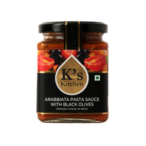 K's Kitchen Arabbiata Sauce With Black Olives