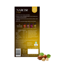 Load image into Gallery viewer, Narciss Sugar Free 55% Dark Chocolate - Pack of 2, Hazelnuts and Classic (90g x2)