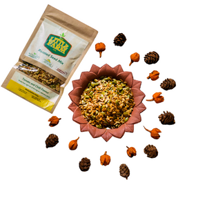 Roasted Seed Mix: Tomato & Chilli Flavour - 100g