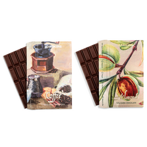 Darkins Coffee & Almond - Pack of 2 | Vegan Chocolate