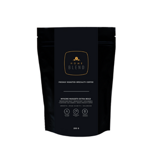 Home Blend Whole Bean (250g) | Mysore Nuggets Extra Bold | 'AAA' | Indian Specialty Arabica