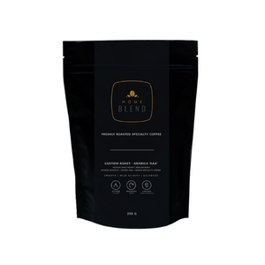 Home Blend Whole Bean (250g) | Custom Roast | Arabica 'AAA' | Cherry 'AAA'