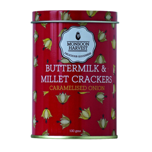 Buttermilk & Millet Crackers - Caramelized Onion 100g