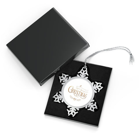 WBIC - Pewter Snowflake Ornament