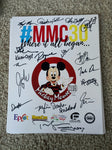 ONLY A FEW REMAINING!!! Free Shipping - Signed Poster by 19 Reunion Mouseketeers at #MMC30