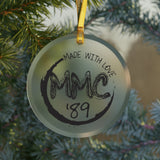 MMC'89 - Glass Ornament
