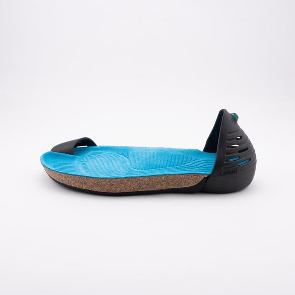 Jungle Lux - Black with Turquoise Blue