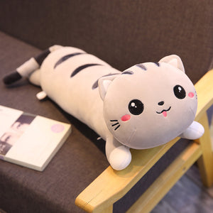 Open image in slideshow, Cat Plush Pillow
