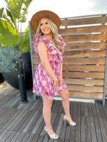 All About the Ruffles Flower Dress
