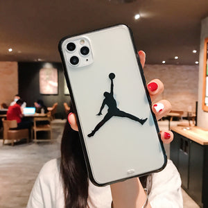 "CAPINHA PARA IPHONE ""JORDAN"" - DO IPHONE 7 AO 12"