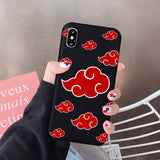 "CAPINHA PARA IPHONE ""AKATSUKI"" DO IPHONE 7 AO 12"
