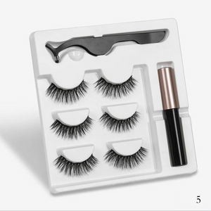 Maglashs - Magnetic Eyelashes, Magnet Liquid Eyeliner, Waterproof, Long Lasting