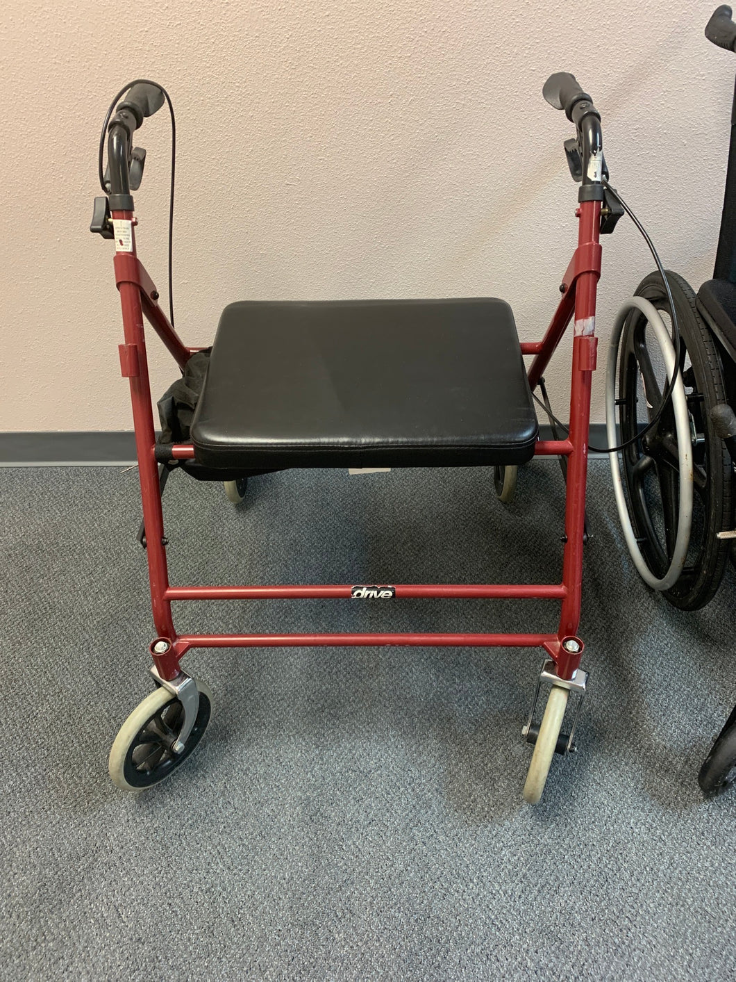 Extra Wide Rolling Walker w/ Seat - Veteran and Community Mobility Center
