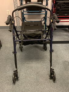 Rolling Walker w/ Seat - Carex - Veteran and Community Mobility Center