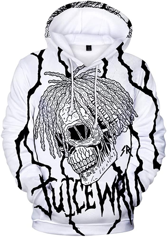 Singer Juice Wrld 3D Hoodie Sweatshirt for Kids and Adults