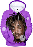 Singer Juice Wrld 3D Hoodies Pullover Sweatshirt for Unisex Kids and Adults