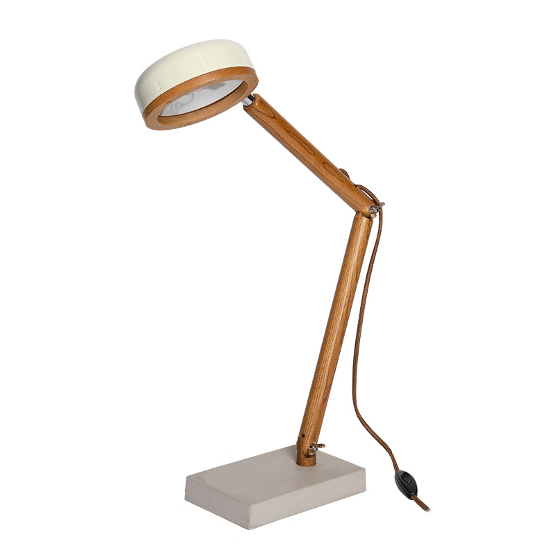 Mr. Wattson HIPP LED Table Lamp - Vintage White