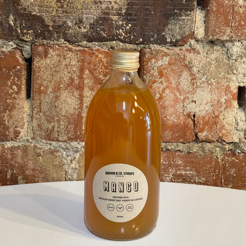Sirup Brown & Co - Mango, 500 ml