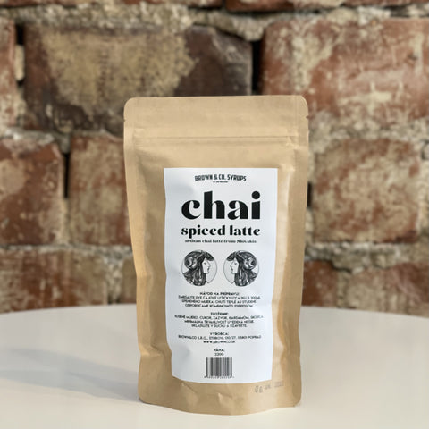 Brown & Co - Spiced Chai Latte, 220 g