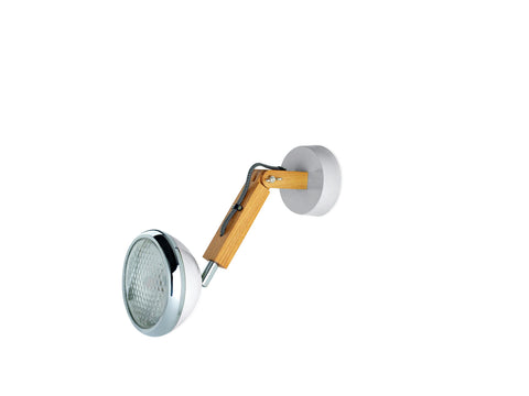 Mr. Wattson Wall Lamp, G9 LED Ash - Nardo Grey