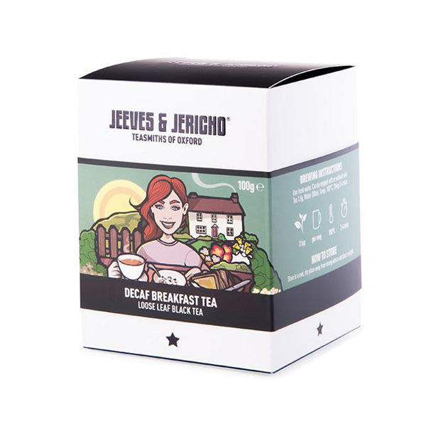 Jeeves & Jericho - Decaf Breakfast Tea