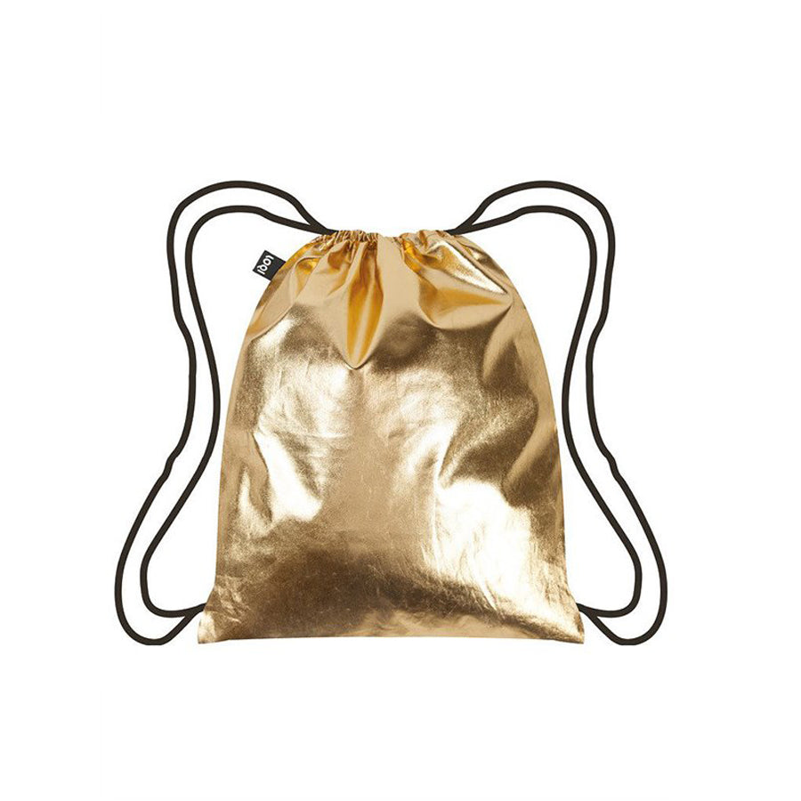 LOQI Back-pack Metallic Gold