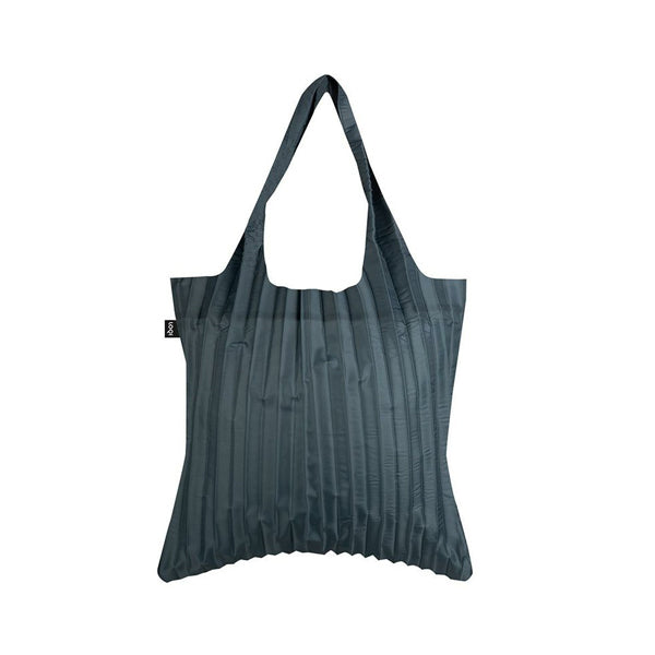 LOQI Pleated Charcoal