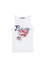 Camiseta BURN blanco