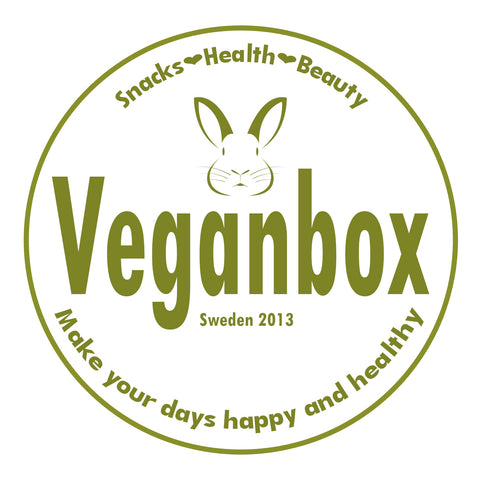 SANTA'S DELIGHTS. Buy 12 months of Veganbox at 36 EUR. You save 108 EUR