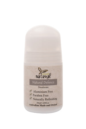 Natural Defence Roll On Deodorant