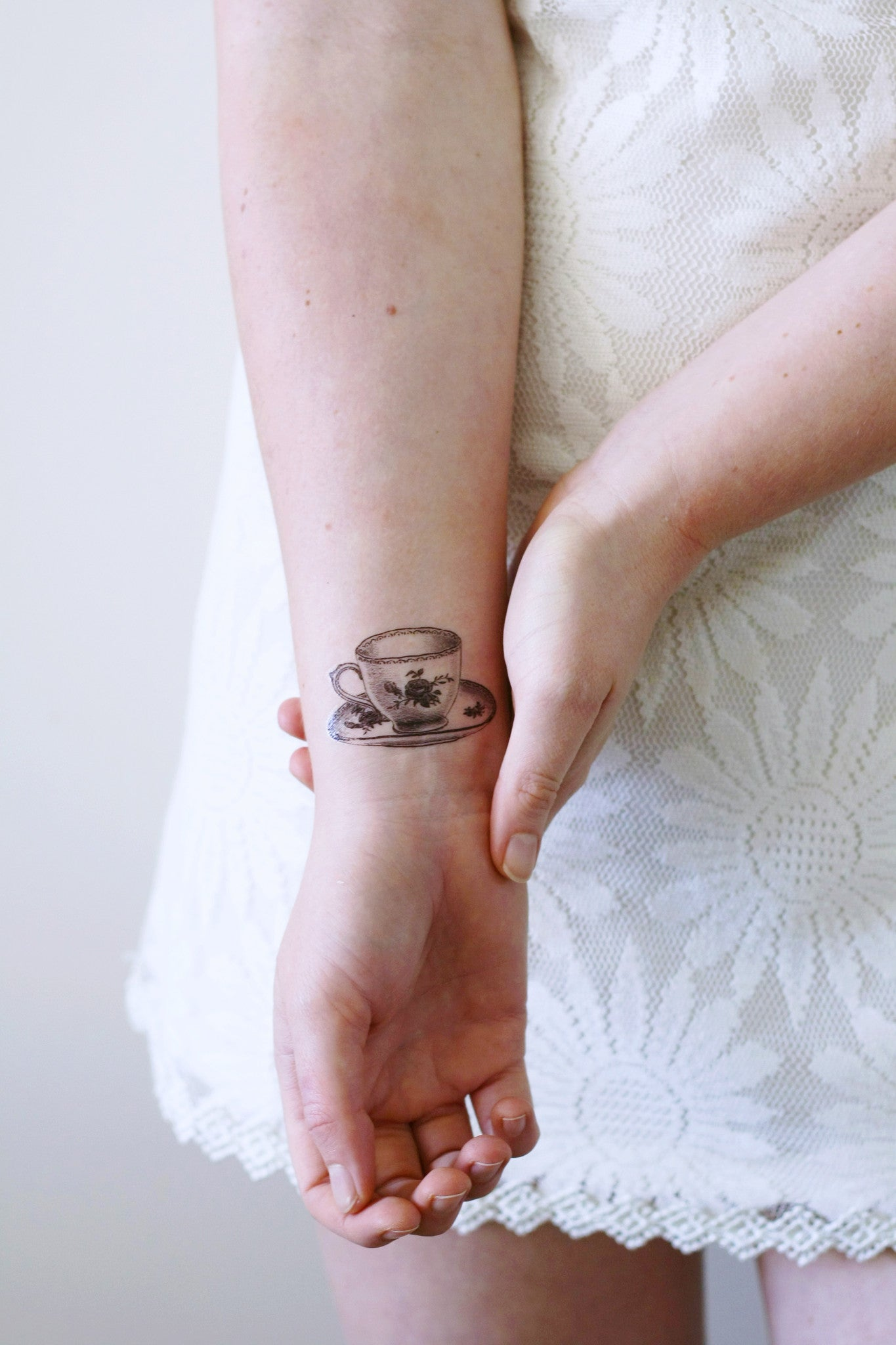 Small teacup temporary tattoo – Temporary Tattoos by Tattoorary