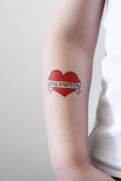 Big Sister temporary tattoo - a temporary tattoo by Tattoorary