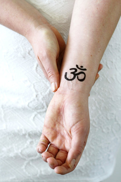 Om / Aum temporary tattoo - a temporary tattoo by Tattoorary