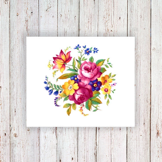 561078a16 ... Colorful round floral temporary tattoo - a temporary tattoo by  Tattoorary
